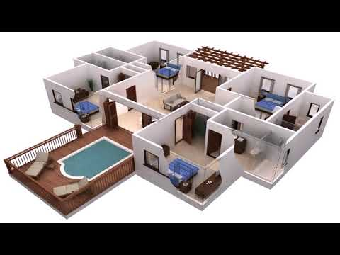 Import Floor Plans To Visualize In 3d Dreamplan Home Design Software Tutorial Youtube