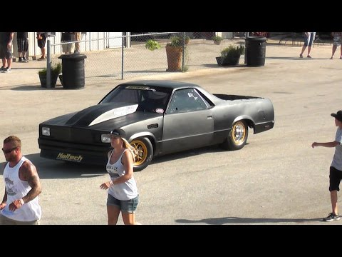Kamikaze Chris and the El Camino from Street Outlaws at Doomsday No Prep