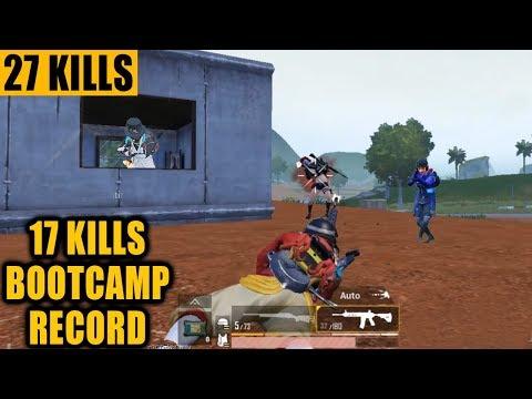WORLD RECORD - 17 KILLS IN BOOTCAMP ONLY - PREDATOR PUBG MOBILE