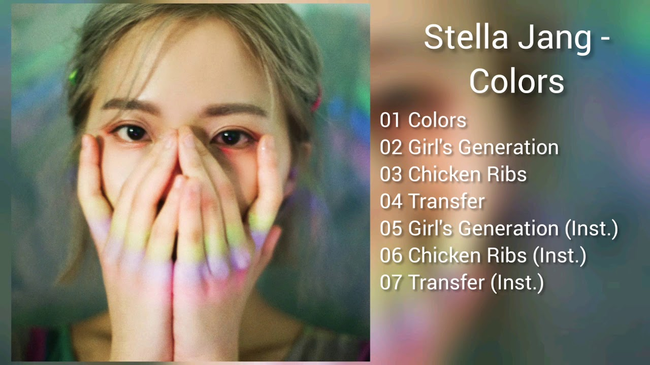 Download Link Stella Jang Colors Mp3 Youtube