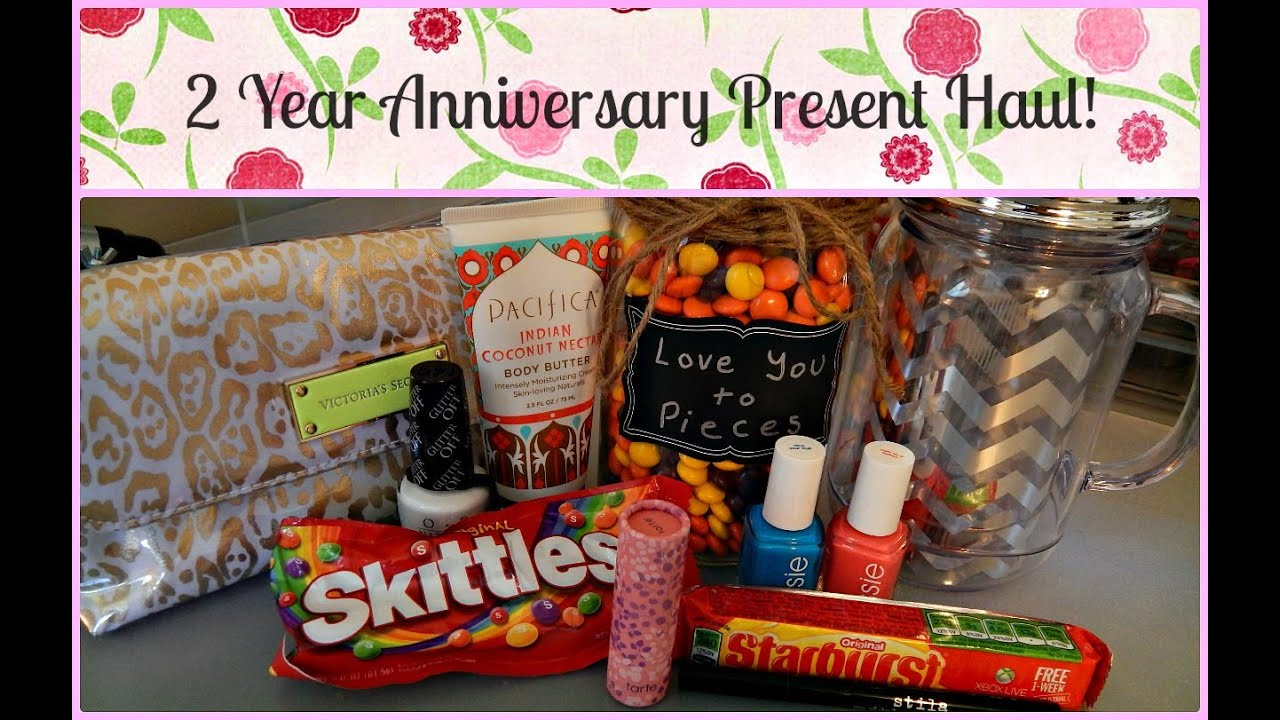 2 year anniversary gifts for your boyfriend