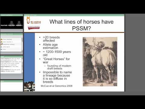 Applications for Equine Genetics