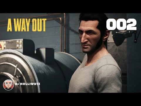 A Way Out #002 - Entkommen aus der Zelle [XBOX] | Let's play A Way Out