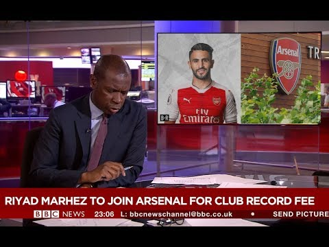 BREAKING NEWS!!! Riyad Mahrez transfer news Arsenal.