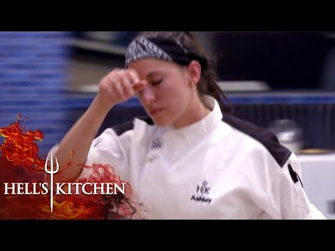Chef Nearly Crumbles Under Pressure   Hell's Kitchen