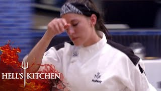 Chef Nearly Crumbles Under Pressure | Hell's Kitchen