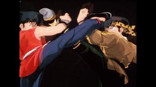 「RANMA ½」/ らんま1/2 : 早乙女乱馬 vs 良牙 『らんま1/2』(らんまにぶんのいち、ラテン文字表記: Ranma 1/2)は、高橋留美子による日本の漫画作品。1987年36号 ...