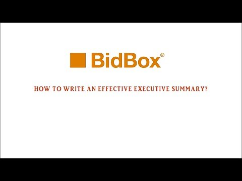 How to Write an Effective Executive Summary (Tutorial)