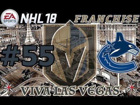 "NHL 18: Vegas Golden Knights Franchise #55 ""Vancouver"""