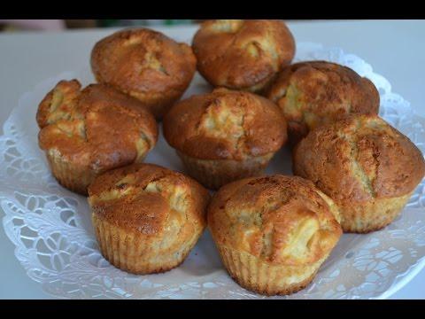Вкусные кексы с яблоком