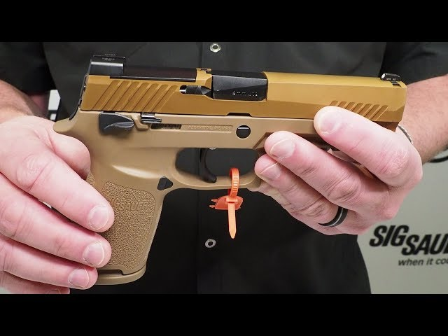 U.S. Army M17 SIG Sauer P320 Overview with Phil Strader – SHOT Show 2018