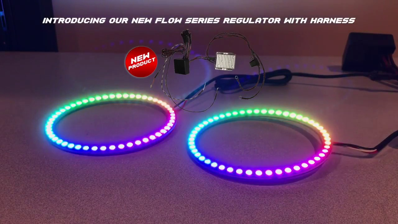Autoledtechcoms Color Chasing Flow Series Drl Sequential Turn Signal Wiring Harness