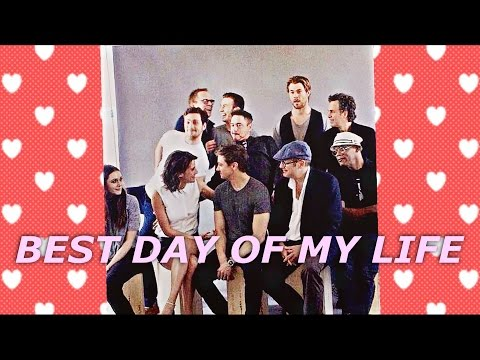 Avengers Cast | Best Day Of My Life