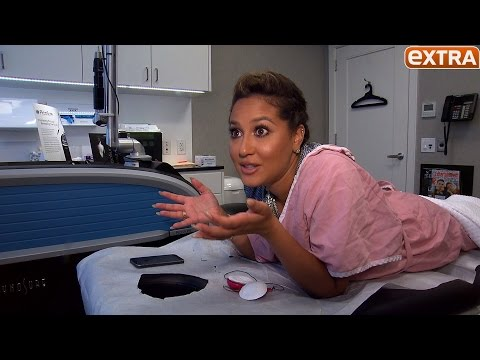 Adrienne Bailon Begins Removing Her Rob Kardashian Tattoo