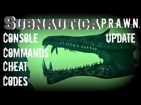 Subnautica: Console Commands/ Cheats Codes - Guide (PC Early Access)