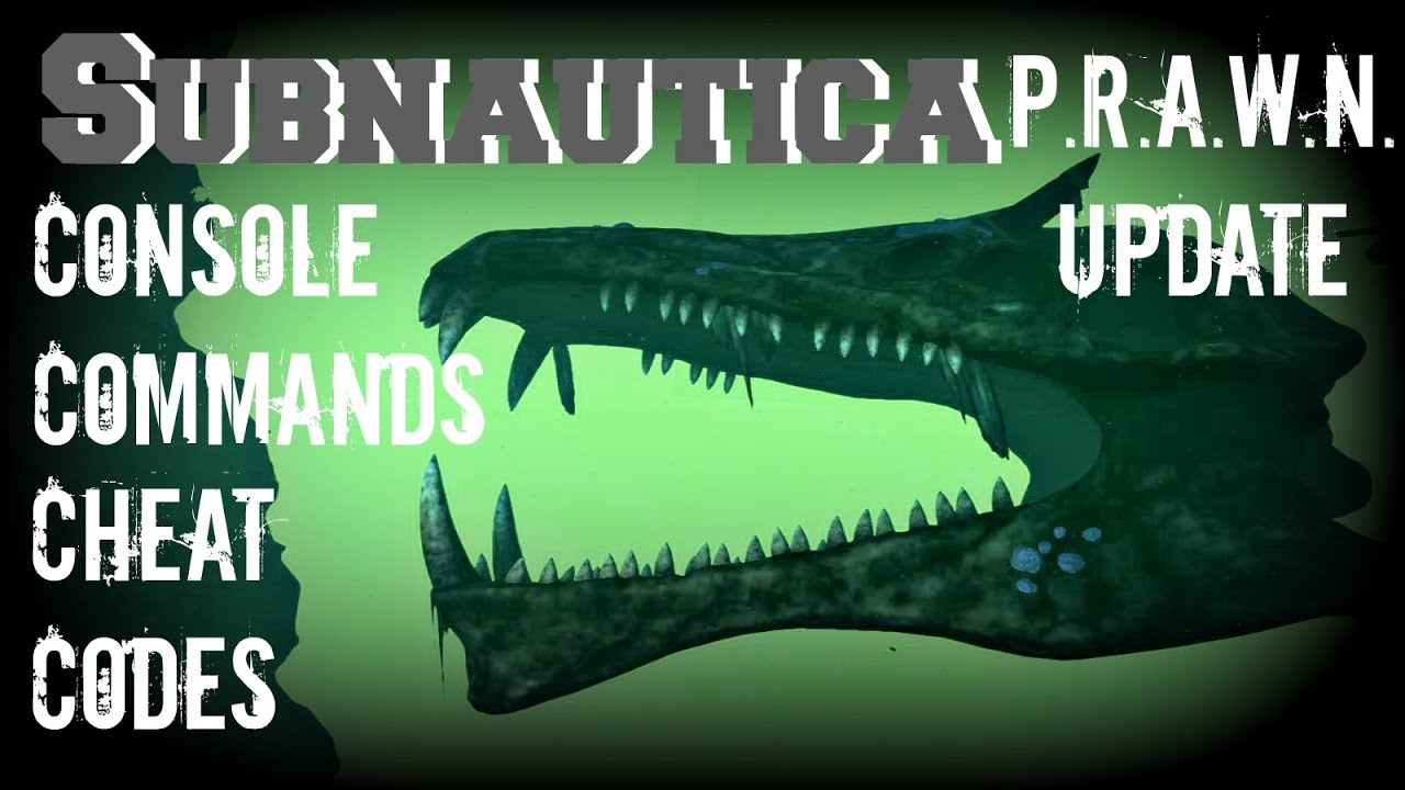 <b>Subnautica</b>: Console Commands/ <b>Cheats Codes</b> - Guide - PC Xbox - YouTube