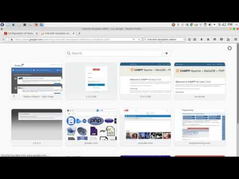 8 ZABBIX monitoring servers and network devices - ويتروو