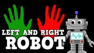 LEFT AND RIGHT ROBOT (song for kids about left & right)
