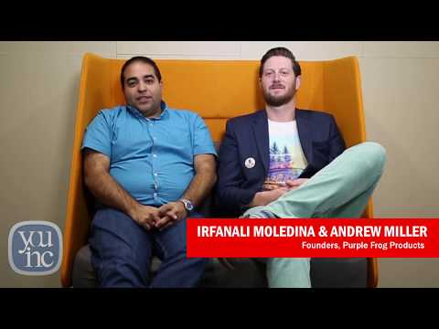 Game Changer Profiles: Irfanali Moledina & Andrew Miller, Founders, Purple Frog Products