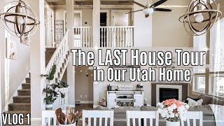 VLOG 1 | The LAST House Tour in our Utah Home | This Crazy Life Home Tour 2021 || Kyle & Amanda