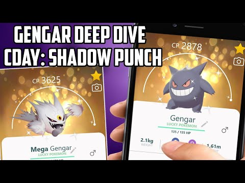 Gengar Shadow Punch & Mega Gengar Deep Dive in Pokemon Go!