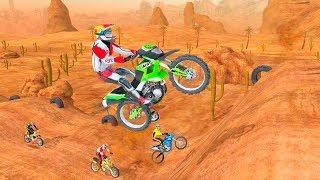 Motocross Racing - Gameplay Android game - motorbike racer game