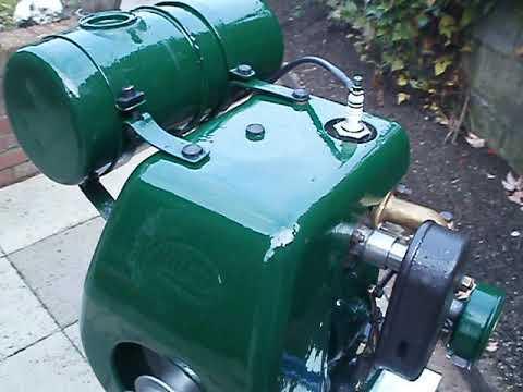 villiers Mk 10 4 stroke engine running after restoration