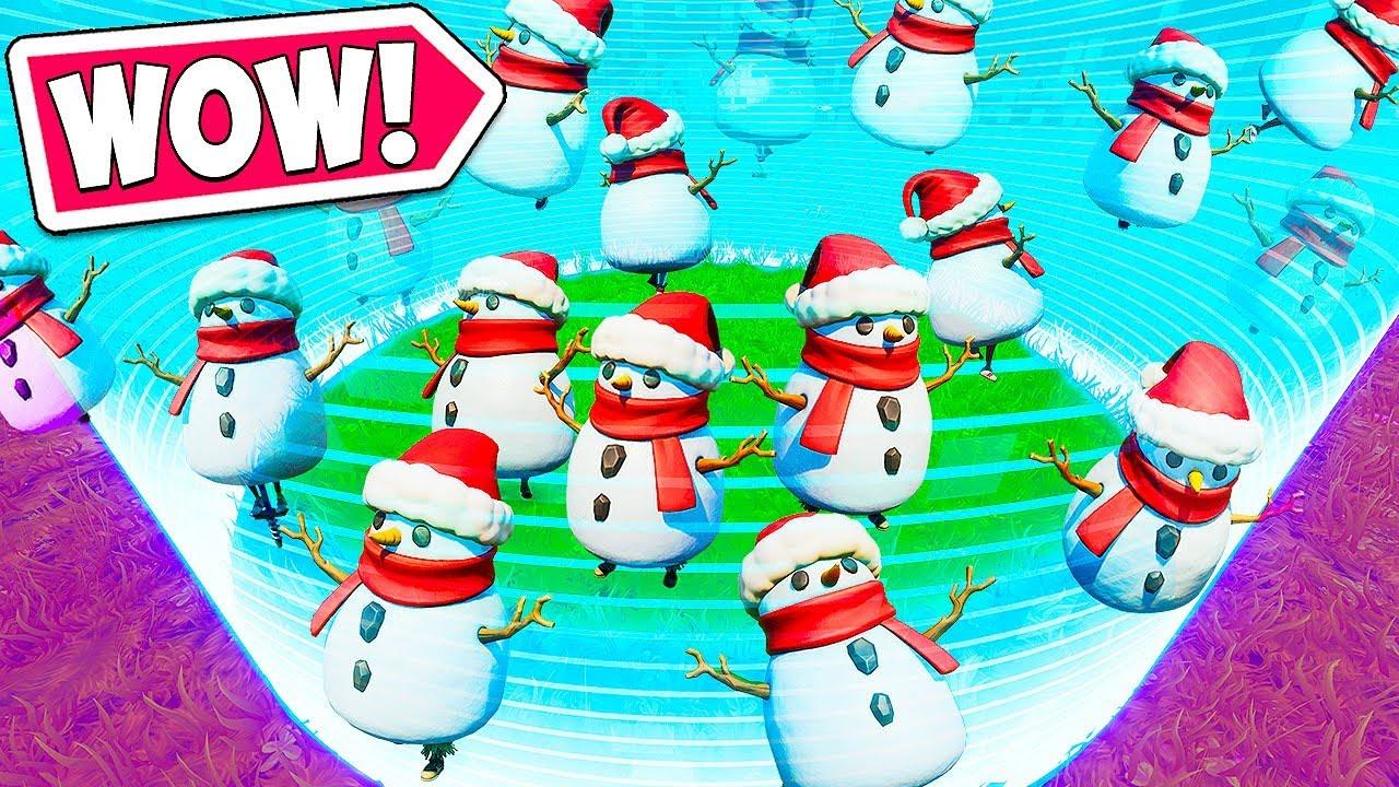*INSANE* FINAL CIRCLE FULL OF SNOWMEN!! - Fortnite Funny Fails and WTF Moments! #782 thumbnail