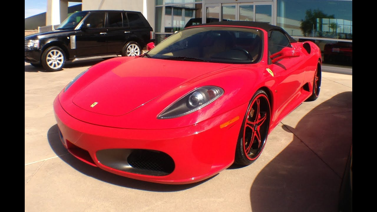 Used Ferrari For Sale >> 2005 Ferrari F430 Spyder, For Sale at Bentley Scottsdale ...