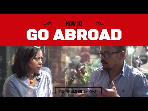 How To Study And Go Abroad - Interview & Chat With Young American Expat