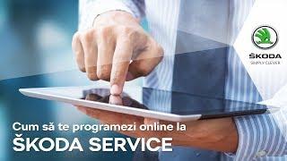 Cum să te programezi online la SKODA SERVICE