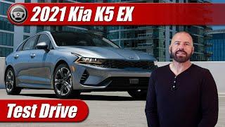 2021 Kia K5 EX: Test Drive