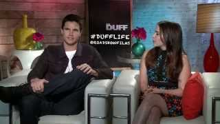 The DUFF (2015) Robbie Amell's Monster Voice [HD]
