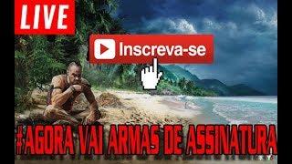 FAR CRY 3 #ARMAS DE ASSINATURA JÁ NA RETA FINAL- RUMO AO 300 INSCRITOS -