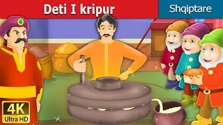 Deti I kripur | The Salty Sea Story in Albanian | Perralla Shqip | Albanian Fairy Tales