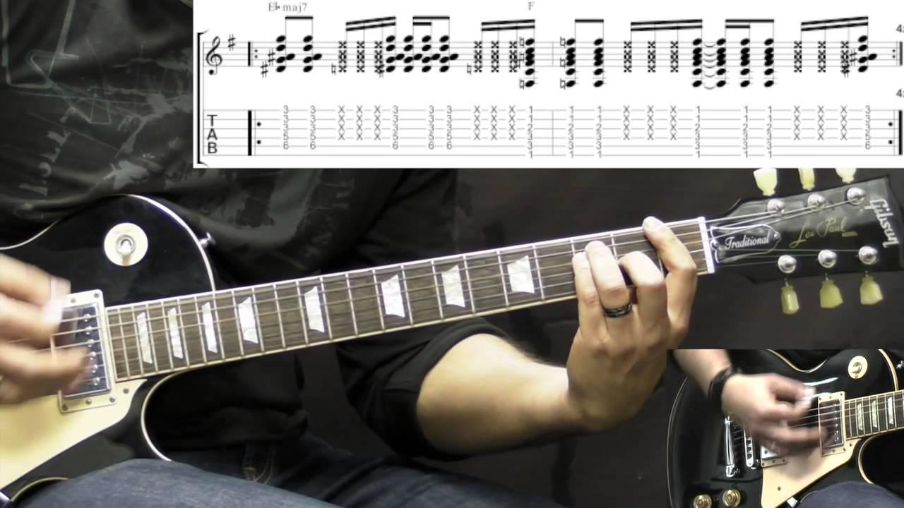 Stone Temple Pilots Plush Alternative Rock Guitar Lesson Wtabs