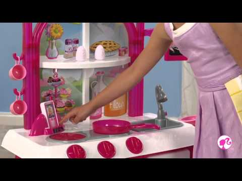 Barbie Gourmet Kitchen Toys R Us Canada Youtube