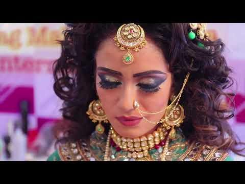 Anurag makeup mantra  print media makeup  heavy makeup experiment