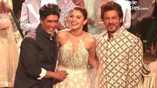 Shahrukh Khan & Anushka Sharma's Ramp Walk For Manish Malhotra's Fashion Show - Mijwan