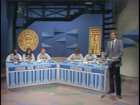 College Bowl/Delivery Race/Michael Keaton on Late Night, Oct. 19, 1982