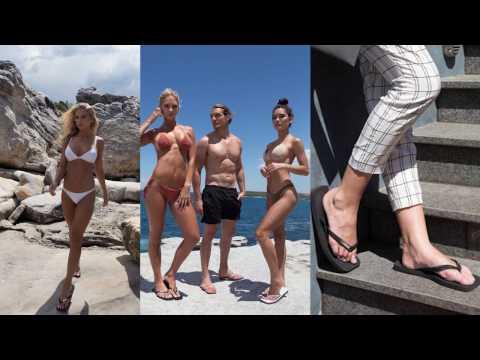 Damien Hall Designer Flip FLops Australia