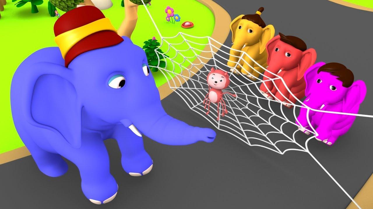 Ek Mota Hathi - Hindi Rhymes Balgeet Poems | एक मोटा हाथी | Hindi Balgeet  Nursery Rhymes for Kids