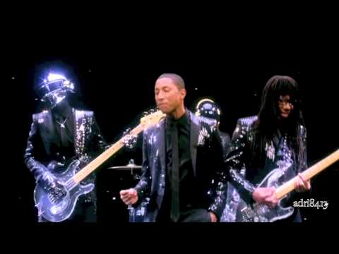 Daft Punk - Get Lucky | Random Access Memories ft. Pharrell Williams | Completed Music [NonOfficial]