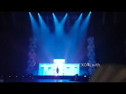 Chanyeol Solo Rap EXO Elyxion Singapore 180303