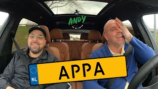 Appa - Bij Andy in de auto! (English subtitles)
