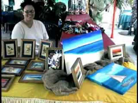 Tours-TV.com: Cayman Islands Arts and Crafts