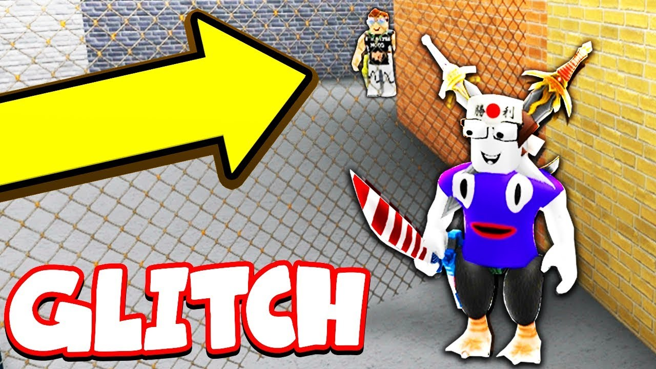 Out Of The Map Glitch Roblox Murder Mystery 2 Youtube