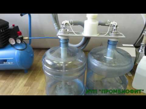 Розлив воды в 19л бутыли(ДУЭТ-П)