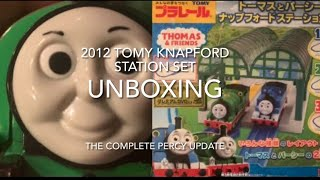 The Vicarage Orchard ~ The Complete Percy UPDATE! 2012 Thomas & Percy Knapford Station set unboxing
