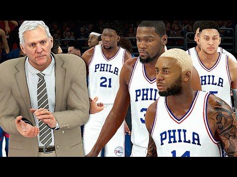 NBA 2K17 My Career #24: O Novo Philadelphia 76ers!
